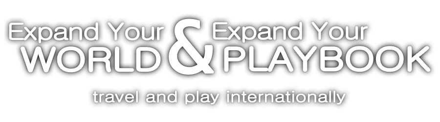 Expand your World Expand Your Playbook